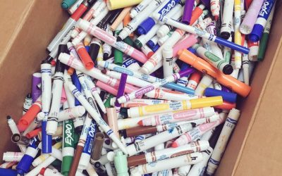 Repurpose those dried out markers!
